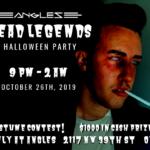 Dead Legends Halloween Party 2019
