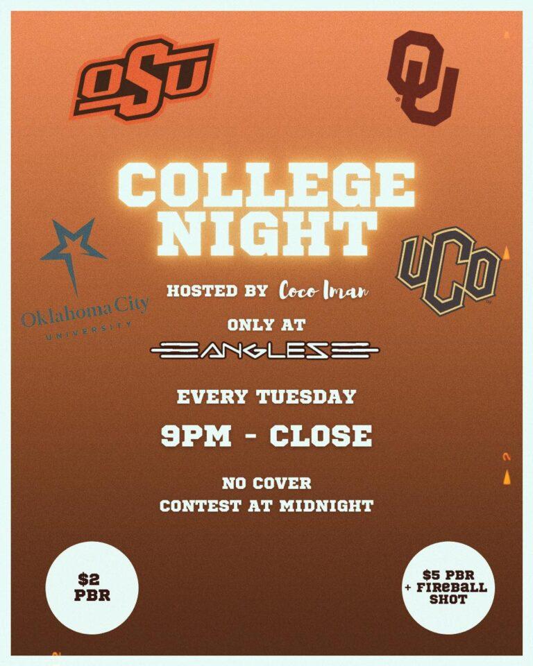 College Night at Angles Oklahoma City